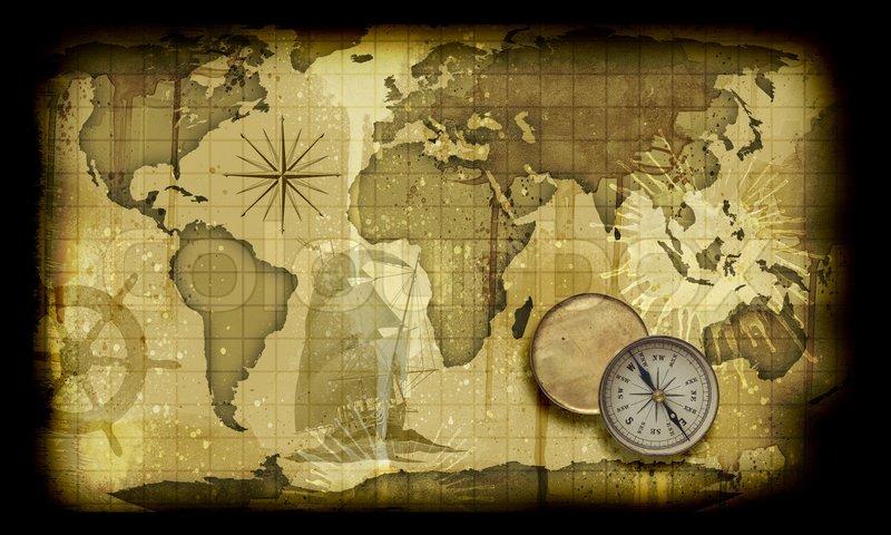 verdenskort gammelt