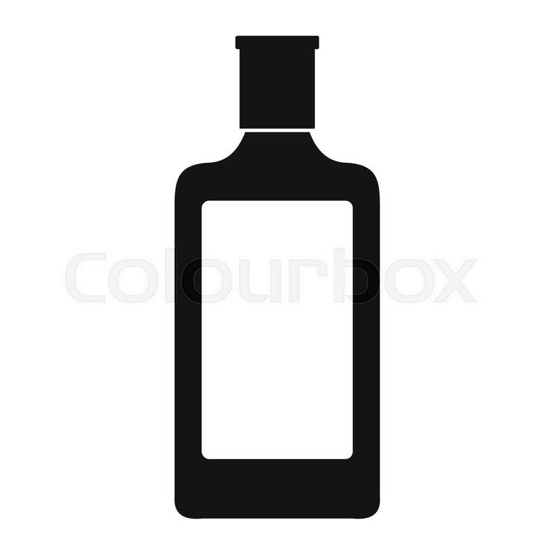 Alcohol Glass Silhouette