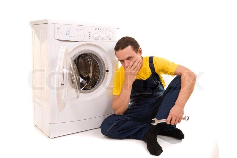 laundry machine repairman