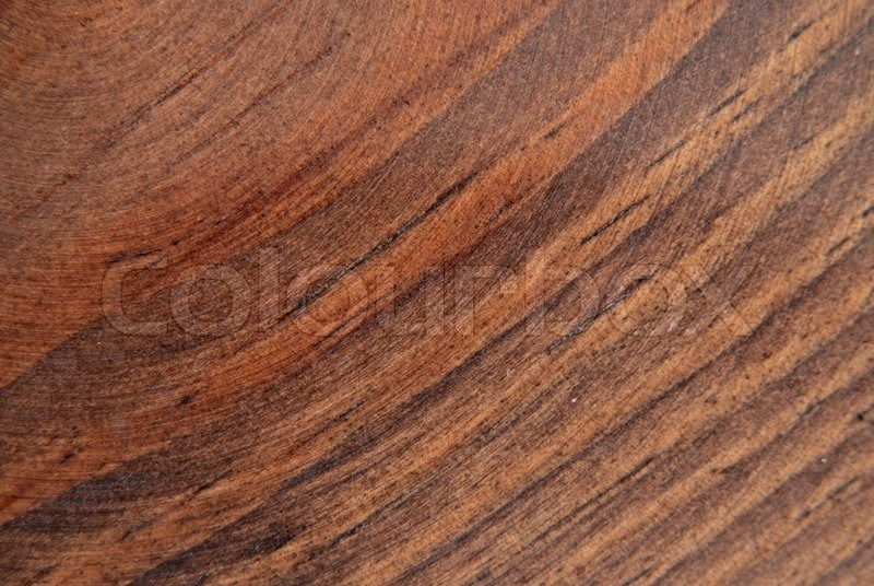 Natural Wood Grain Design Of Oak Wood With Cherry Stain