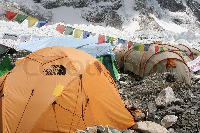 ... Everest Base c& trek glacier glaciers ice snow rock rocks cold freezing high altitude Evrest BAse C& 5400 meter meter 5400 tent ... & Nepal Himalaya Khumbu Region Everest Base camp trek ...