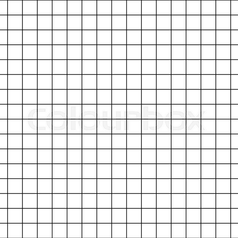 checkered notebook paper vector seamless pattern graph paper black rh colourbox com graph paper vector free graph paper vector art