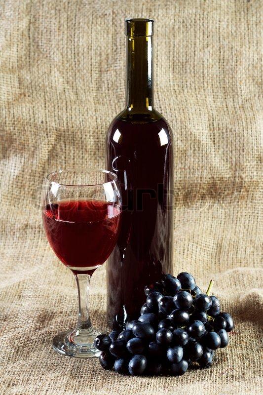 Red Vintage Wine 55