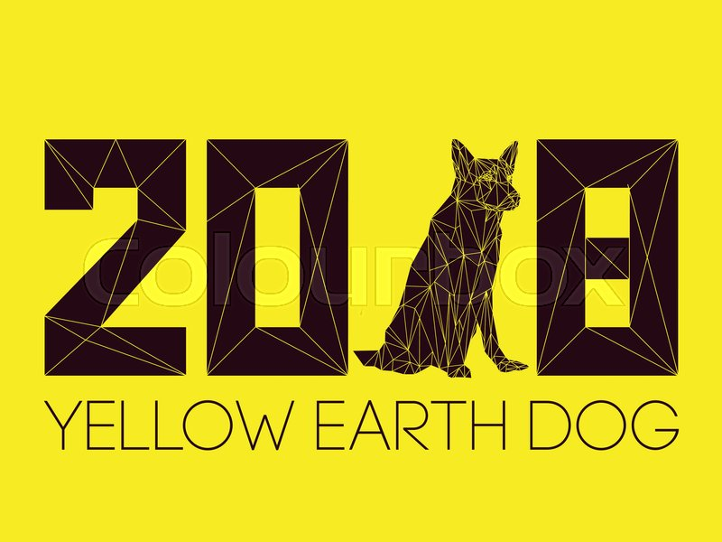 2018 And Dog Is Symbol Of New Year According To Chinese Calendar