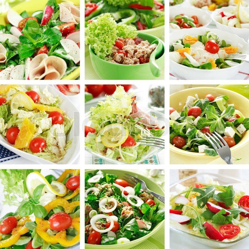 Диетические салатыы для похудения