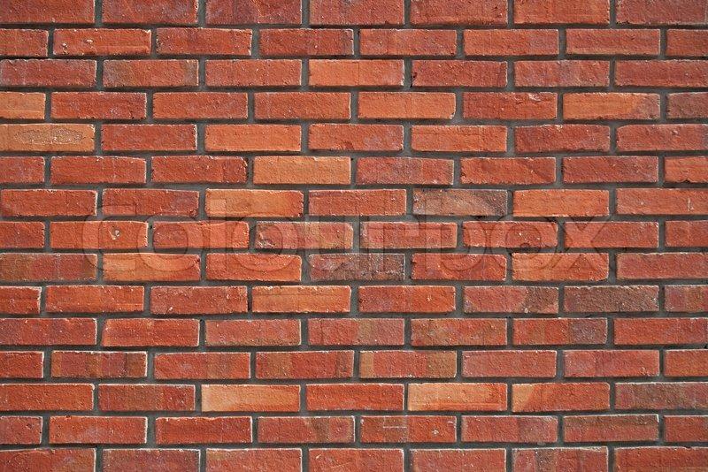 Red Brick Wall Texture Stock Photo Colourbox