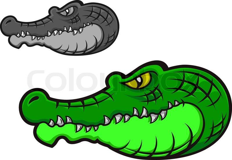 Cartoon Alligator Clip Art