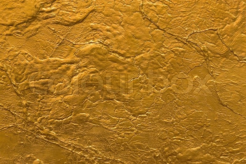 Gold stone wall texture stock photo colourbox for Gold wallpaper for walls