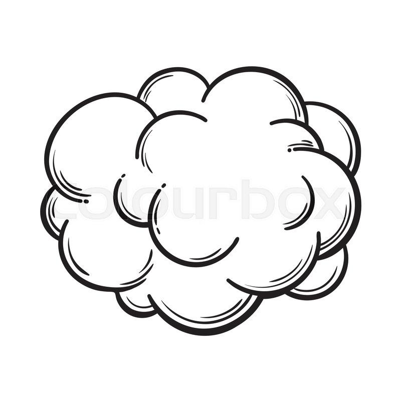 Drawn Clouds Cartoon