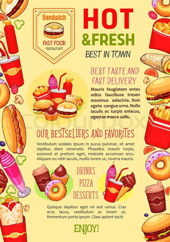 Healthy Menu Fast Food