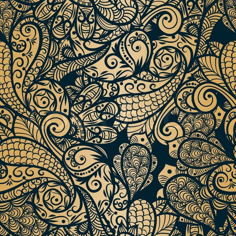 Hintergrund asien indisch vektorgrafik colourbox - Orientalische wandgestaltung ...