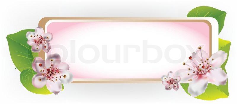 Blossom Picture Frames Frame With Cherry Blossom