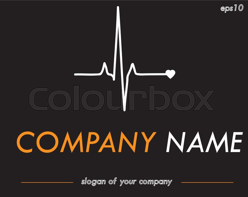 Medical Corporation Vector Logo Template Logotype For A Company Or