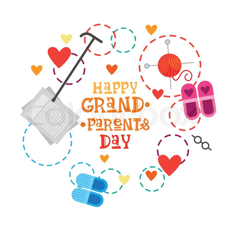Happy grandparents day greeting card banner vector illustration happy grandparents day greeting card banner vector illustration vector m4hsunfo