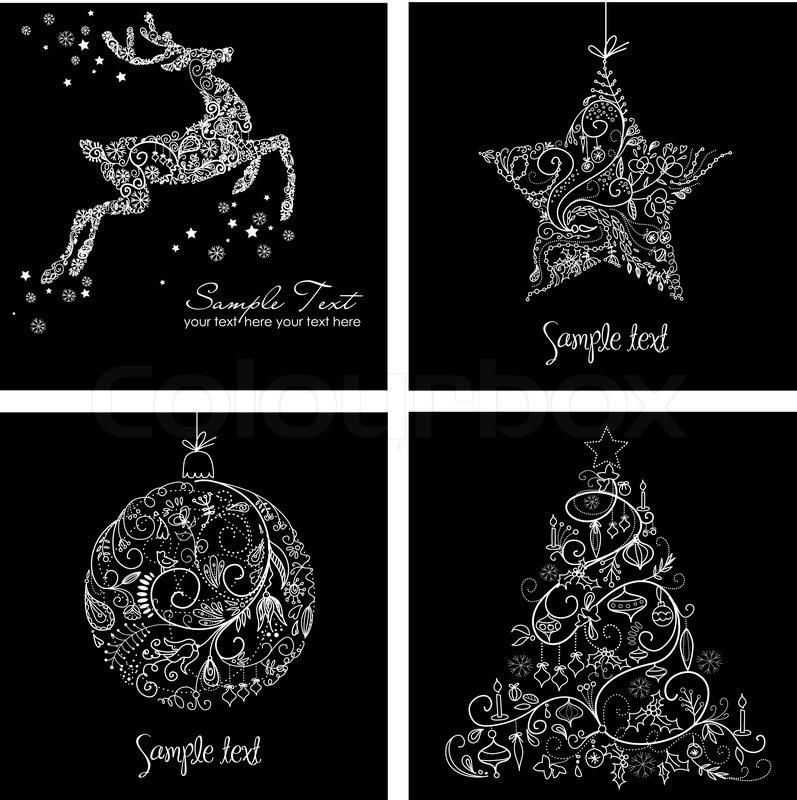 BIRTHDAY CHRISTMAS CARDS