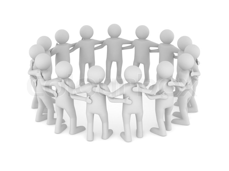 conceptual image of teamwork isolated 3d on white stock crow clipart crown clipart simple