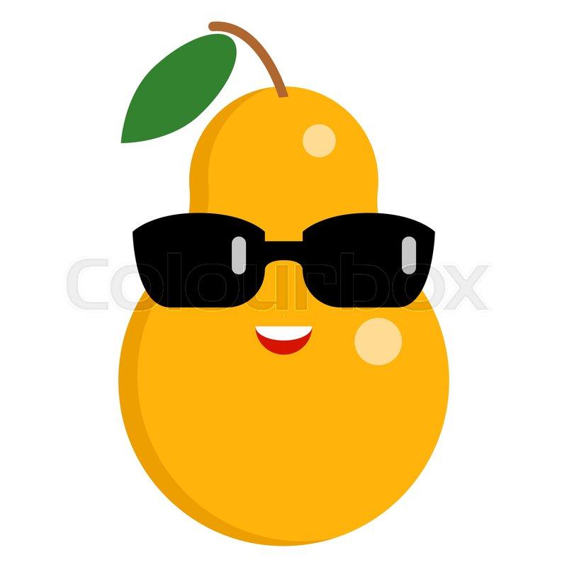 Sunglasses face emoji