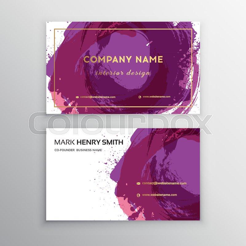 Vector business card luxury business card designctor modern vector business card luxury business card designctor modern creative and clean business card template stock vector colourbox colourmoves