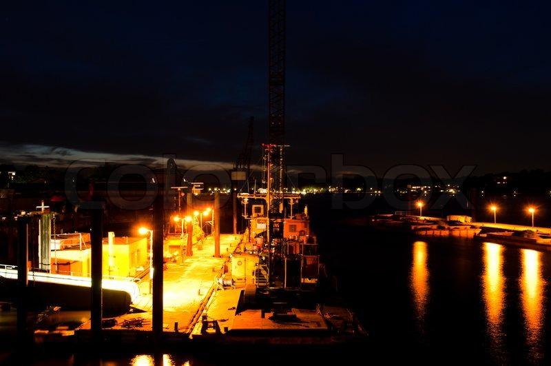 Night Scene At Finkenwerder In Hamburg Harbour Germany Image 2844615 together with Anti Transport and Golgi Organization 6 Homolog Drosophila TANGO6 AA 904 933  C Term antibody also Super Elegancka Olowkowa Spodnica Z Koronka Roz 44 2844615 besides 1998 furthermore 400401 00136. on 2844615