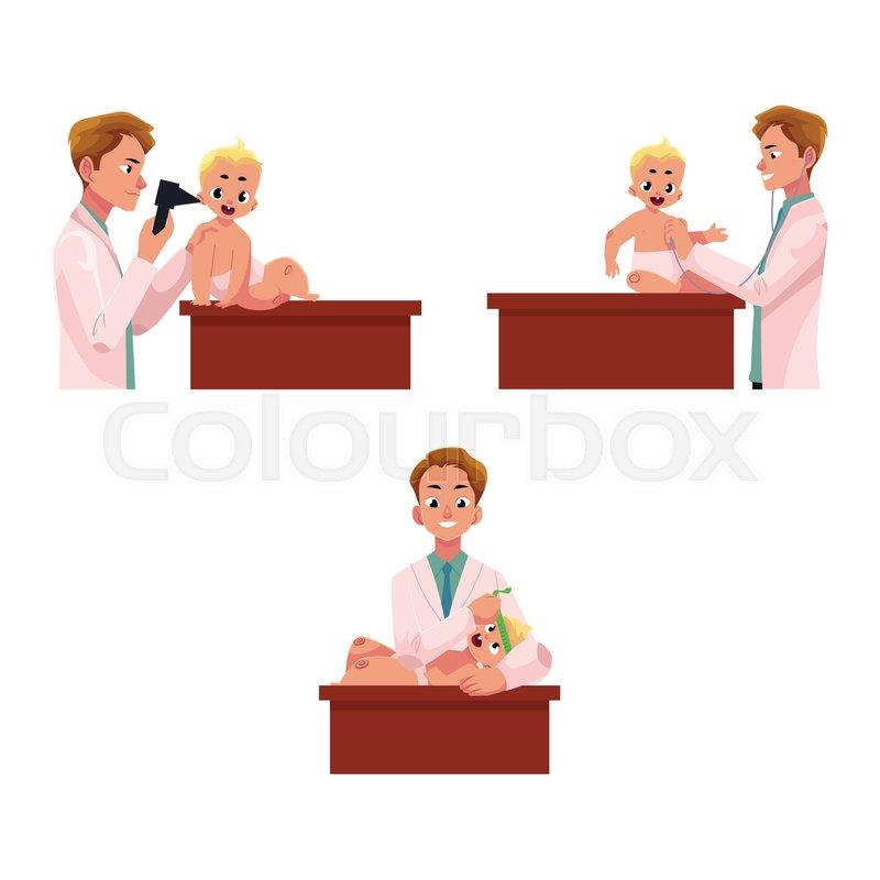 4abc412f8 Set of man doctor