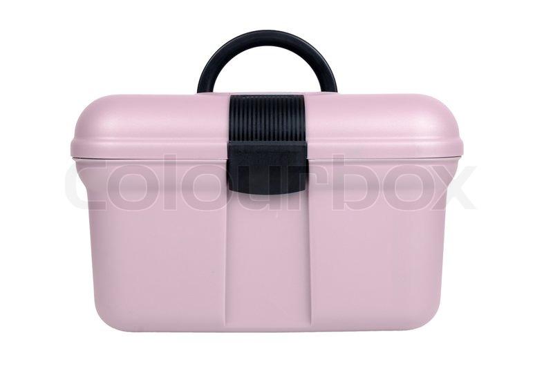 Modern Boxing Modern Pink Plastic Sewing Box