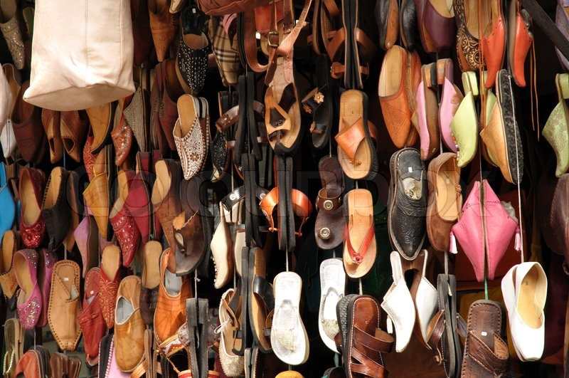 e871f2872614 Colorful shoes for sale in Marrakech