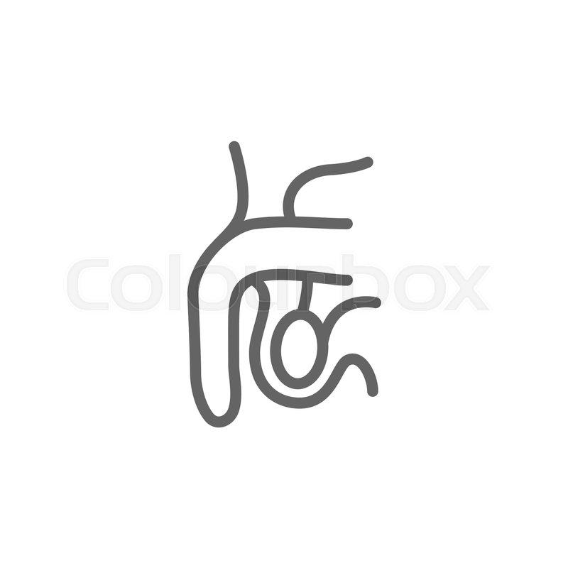 Penis text symbol
