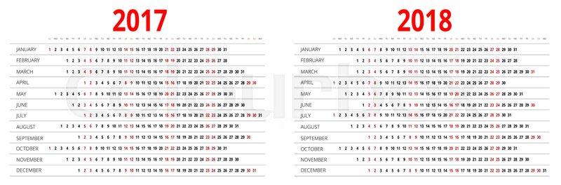 years calendar