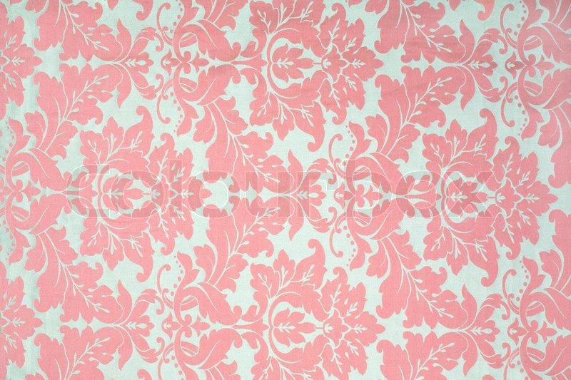 Vintage Pattern On Fabric As A Background