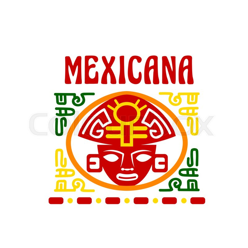 Mexican Fast Food Restaurant Traditional Cuisine Of Mexico Vector