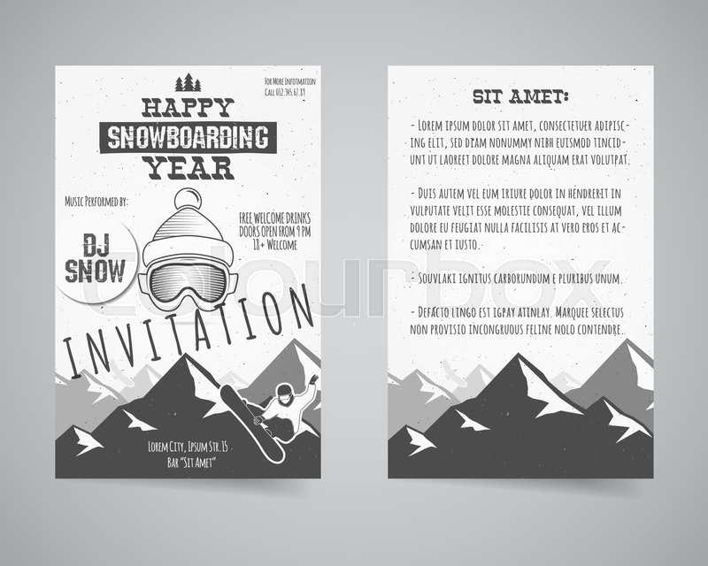 Holiday Identity Templates Christmas Banner Business Card Flyer