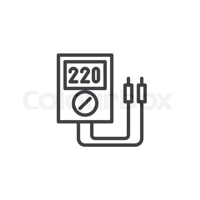 Fein Voltmeter Symbol Bilder - Elektrische Schaltplan-Ideen ...