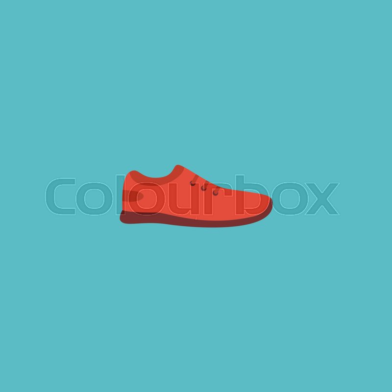 Flat Icon Sneakers Element Vector Illustration Of Flat Icon