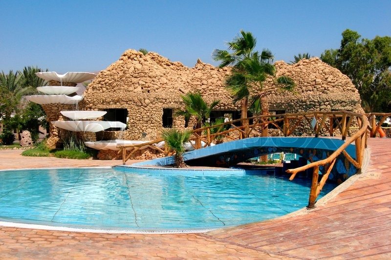 Egypt specific bar with swimming pool in resort nuweiba for Dusseldorf hotel mit pool
