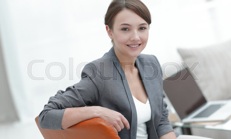 Closeup portrait of a female psychologist in her private office.photo with copy space, stock photo