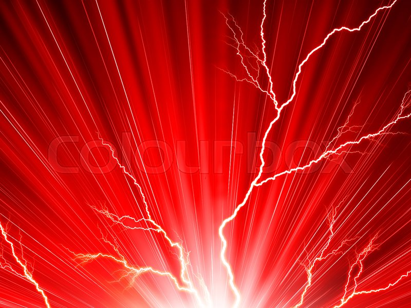 Electric Red Background