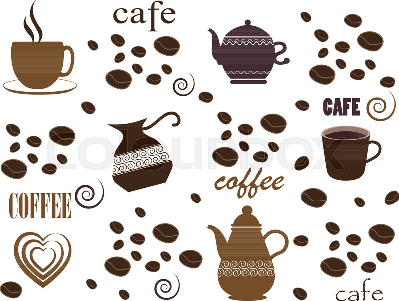 coffee background seamless coffee pattern templates with coffee for