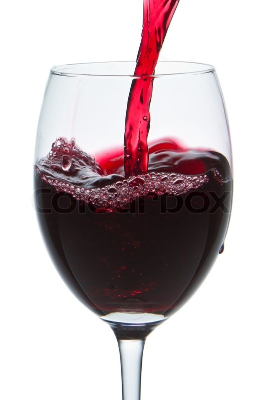 red wine pouring into wine glass isolated stock photo. Black Bedroom Furniture Sets. Home Design Ideas