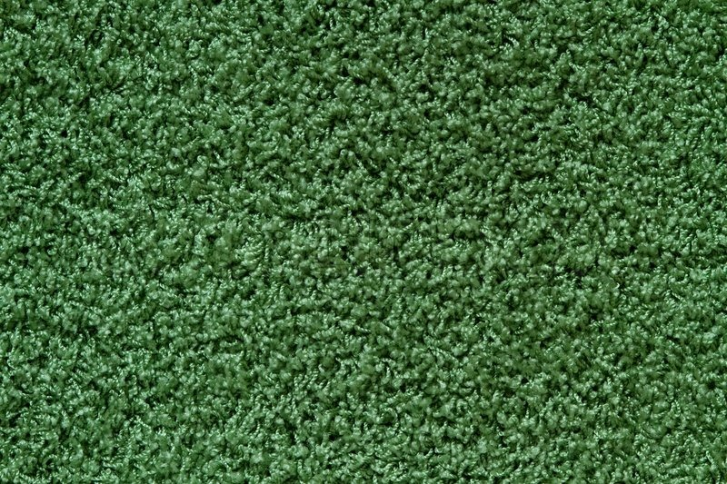 Texture Of A Green Carpet With Long Stock Photo Colourbox
