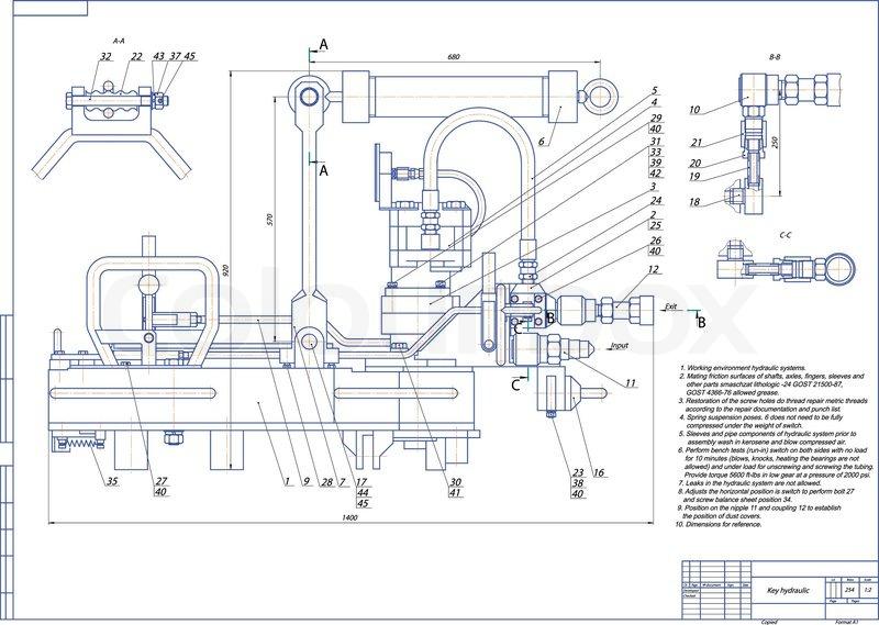 lincoln floor jack parts diagram machine building drawing key hydraulic vector  machine building drawing key hydraulic vector