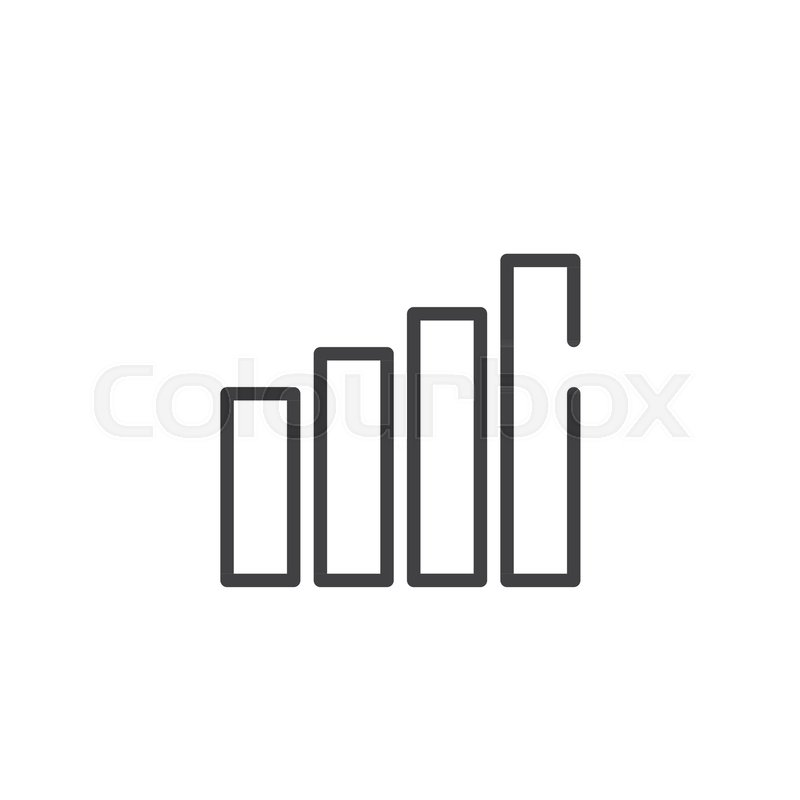 Bars line icon outline vector sign linear style pictogram isolated bars line icon outline vector sign linear style pictogram isolated on white growing chart symbol logo illustration editable stroke stock vector ccuart Image collections