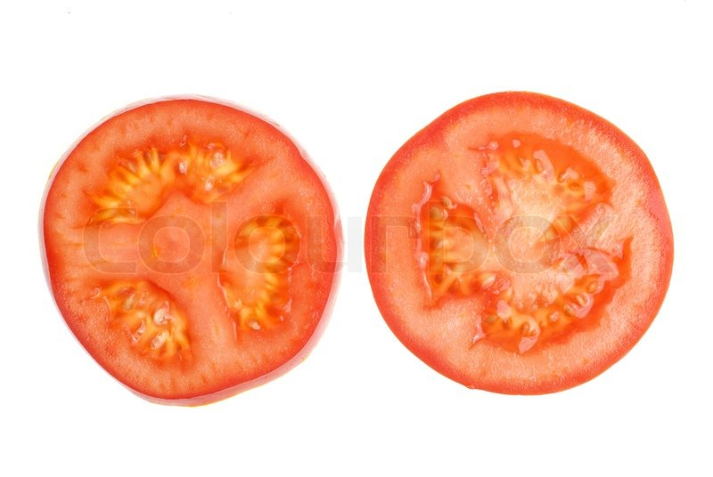 how to cut tomato slices