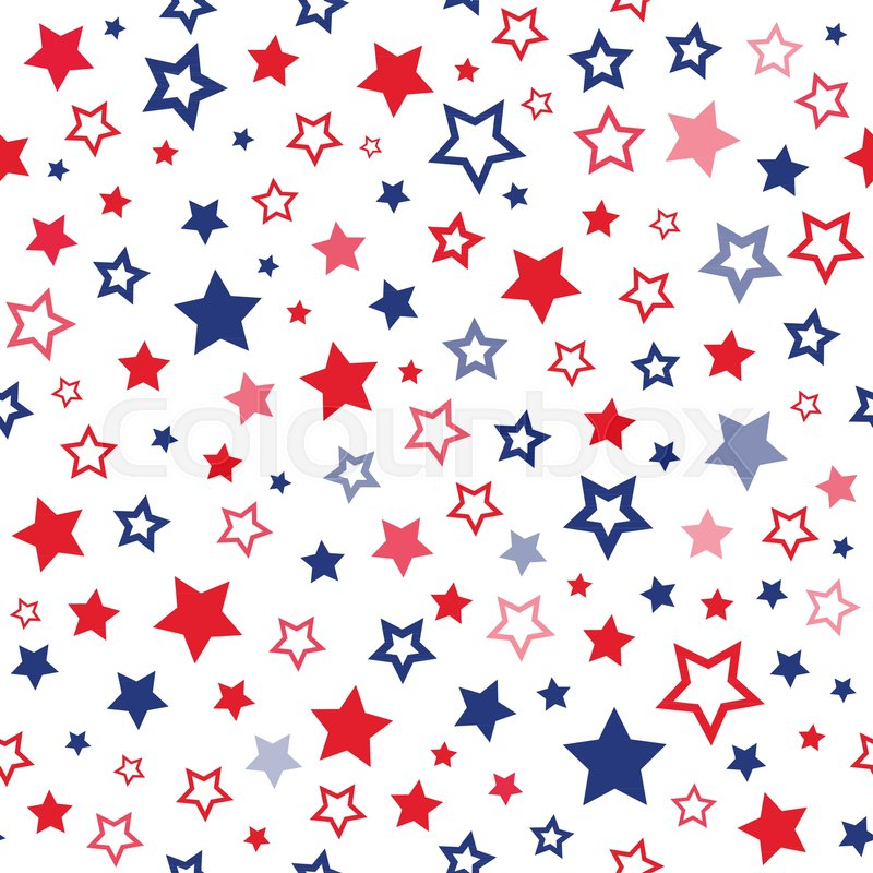 red and blue stars seamless pattern stock vector colourbox red and blue stars seamless pattern