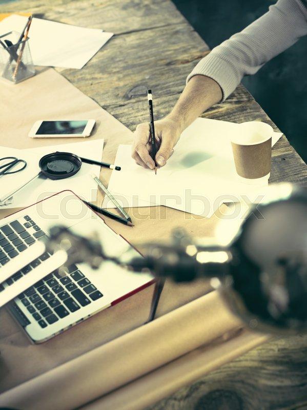 Architekt job ingenieurwissenschaft stockfoto colourbox for Architekt alternative jobs