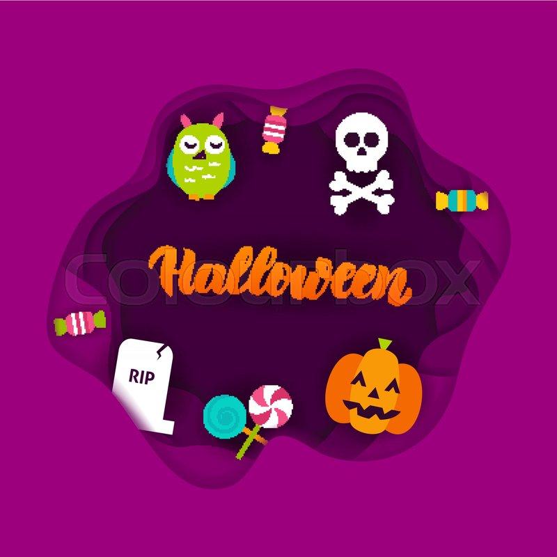 30+ Halloween Papercut Concepts Image