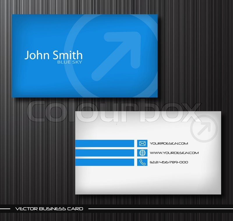 Vector abstract creative business cards set template | Stock Vector ...
