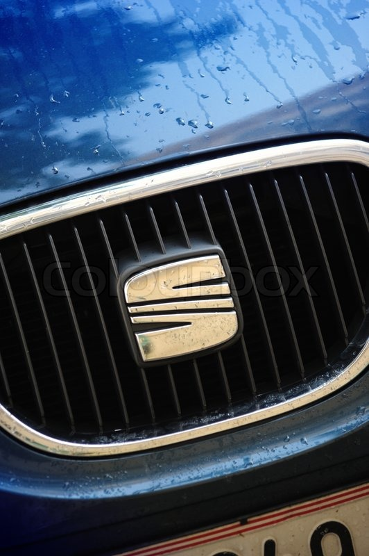 Wet Seat Logo Badge On The Radiator Grille Of A Car Produced By Volkswagen One Of The Biggest