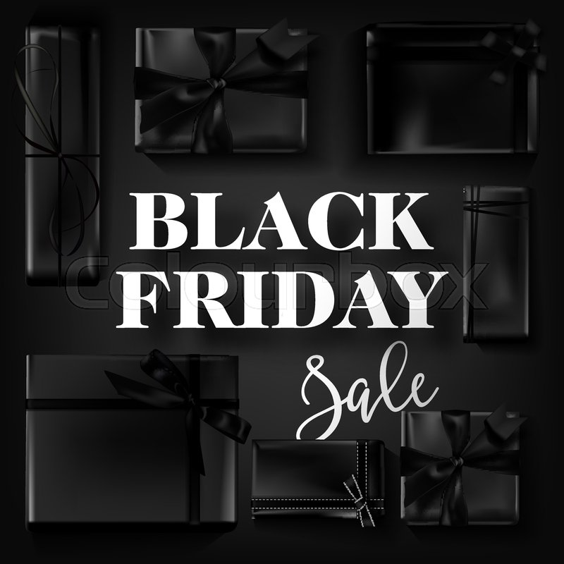 black friday sale poster template for discount promo offer or