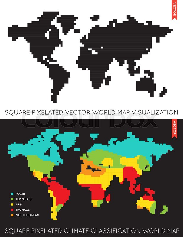 Set of vector flat maps of the world infographic map data stock set of vector flat maps of the world infographic map data vector gumiabroncs Gallery