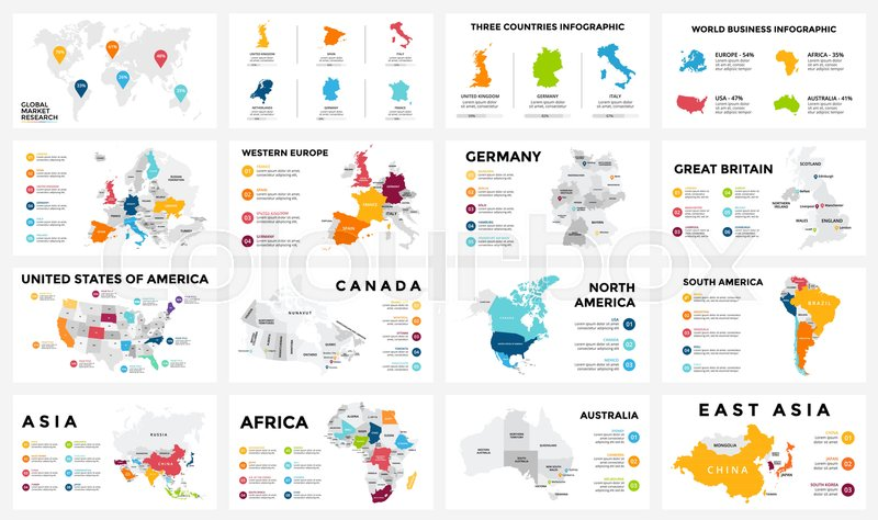 Vector map infographic. Slide ... | Stock vector | Colourbox on map of all of europe, map charts, map with mountains, map facebook covers, map travel, map sea monster, map google, map of america, map from europe, map virginia usa, map of african ethnic groups, map miami fl, map in spanish, map with legend, map norms, map of european ethnic groups, map in minecraft, map photography, map making, map print,